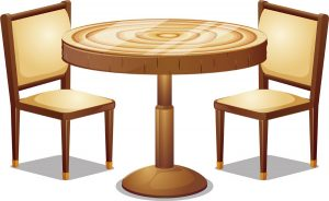 テーブルの処分